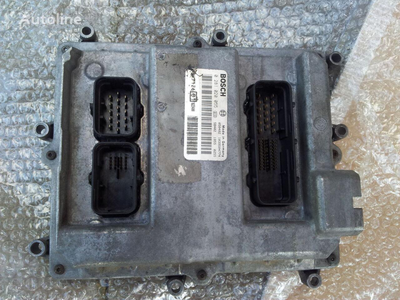 MAN Common Rail EDC, ECU electronic diesel control 0281020055, D2066 besturingseenheid voor MAN TGA trekker