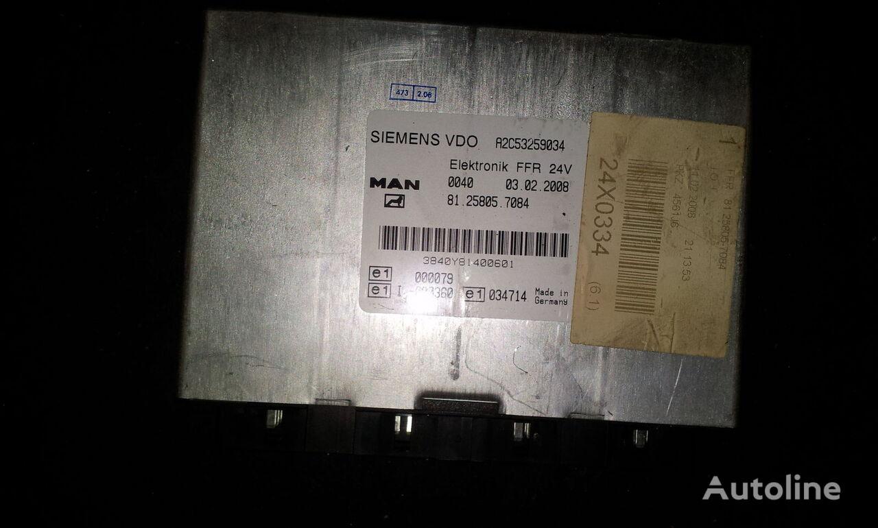MAN FFR control unit, ECU, 81258057084, Siemens VDO, 81258057084, 81 besturingseenheid voor MAN TGX trekker