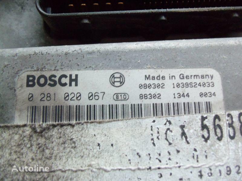 MAN EDC 480PS D2676LF05 ECU BOSH 0281020067 EURO4, 51258037564, 51258037778, 51258037832, 51258037990, 51258037674, 51258337008 besturingseenheid voor MAN TGX trekker