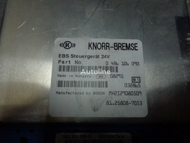 MAN electronic brake system EBS, ECU, 81258087053, KNORR-BREMSE 0486 besturingseenheid voor MAN TGX trekker