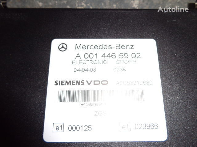 Mercedes Benz Actros MP2, MP3, MP4, FR control unit ECU 0014465902, 0004461346, 0004461746, 0004461446, 0004461846, 0014461502, 0014464302, 0024464302, 0024460202, 0014465502, 0024463202, 0024461302, 0024462902, 0024463402, 0034463502, 0024462602, 0024461 besturingseenheid voor MERCEDES-BENZ Actros trekker