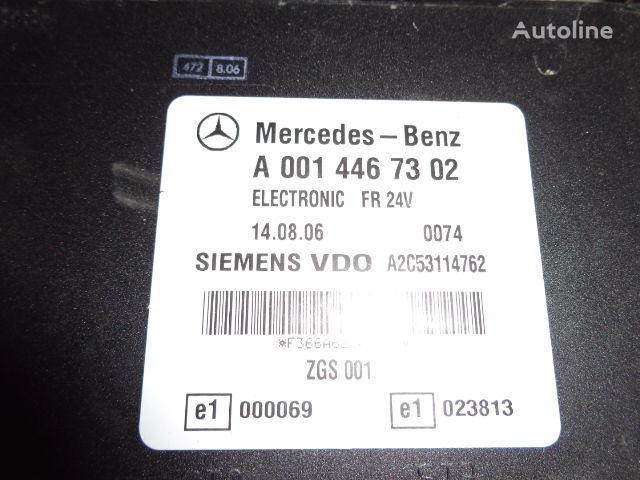 Mercedes Benz Actros MP2, MP3, MP4, FR control unit ECU 0014467302, 0014467302, 0004467502, 0014461002, 0014467402, 0004467602, 0004469602, 0014461302, 0014461402, 0014462602, 0014467002, 0014461902, 0014464102, 0014464002, 0024460102, 0014465402, 0024460 besturingseenheid voor MERCEDES-BENZ Actros trekker