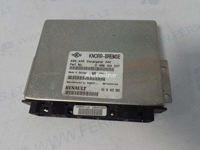 KNORR-BREMSE ABS/ASR Steuergerat  0486104037, 5010422382, 0486104049, 5010493009 besturingseenheid voor RENAULT trekker