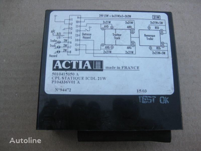 RENAULT ACTIA ACTIA besturingseenheid voor RENAULT vrachtwagen