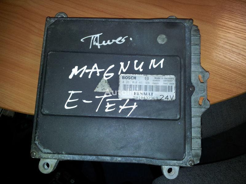 RENAULT engine computer EDC, ECU, 5010437363, BOSCH 0281010481 besturingseenheid voor RENAULT Magnum E-TECH  trekker