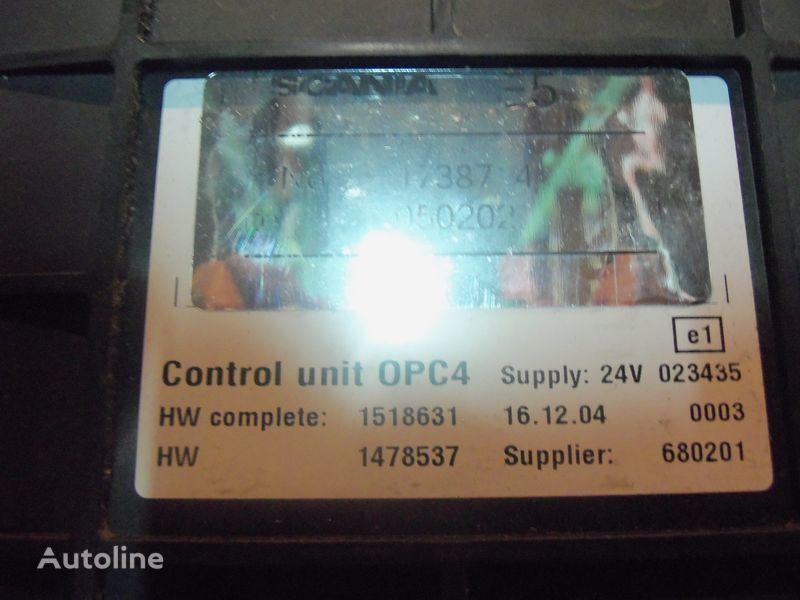 Scania R series OPC4 Control unit 1731140, 1750167, 17514664, 1754669, 1754674, 1754679, 1754684, 1754689, 1754694, 1754699, 1754704, 1754709, 1754714, 1754719, 1754728, 1754733, 1754738, 1918182, 1928717, 1933486, 1933264, 1936924, 2095496, 2149043 besturingseenheid voor SCANIA R series trekker