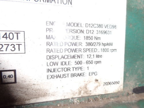 VOLVO D12C 380 HP engine computer EDC 20365050 ECU, 3169631, 3161952, 20412506, 3161962, 20577131, 20582958, 85111405, 85107712, 85103340, 3099133, 8500011, 85000086, 85000388, 85000846, 8113577, 85111405, 8113577, 3099133 besturingseenheid voor VOLVO FH12 truck
