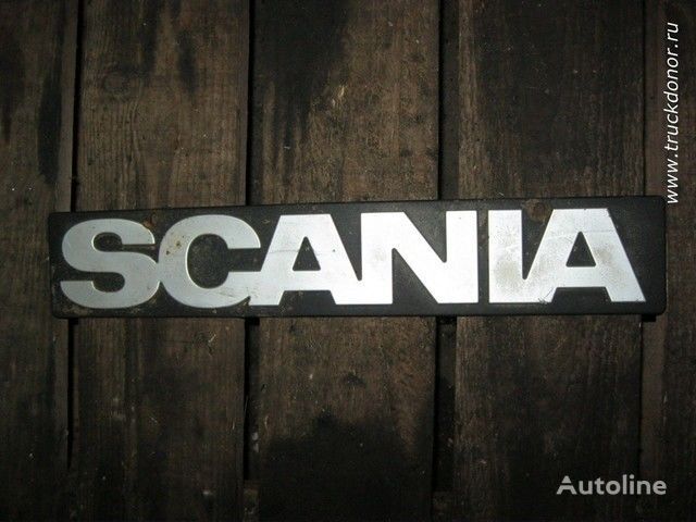 Logotip Scania chassis voor SCANIA truck
