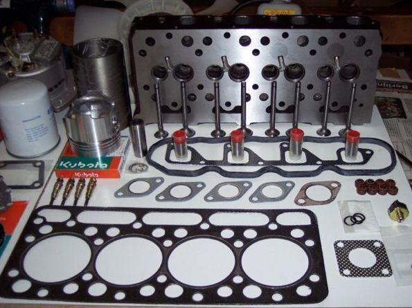 nieuw KUBOTA cilinderkop voor minigraver