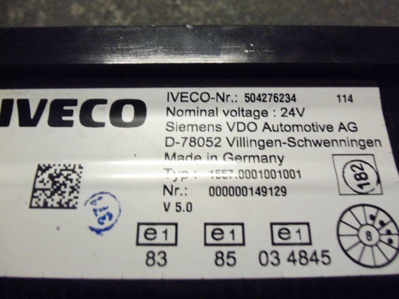 IVECO EURO5 instrument panel cluster 504276234, 504226363, 504025358, 504156164, 504156187 dashboard voor IVECO Stralis trekker