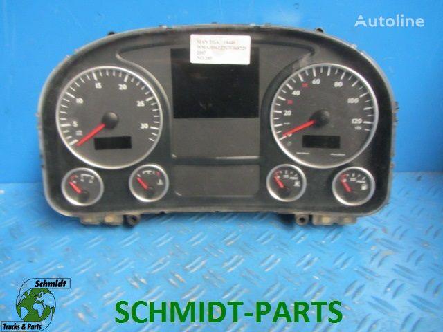 81.27202.6216 Instrumentenpaneel dashboard voor MAN 81.27202.6216 Instrumentenpaneel vrachtwagen