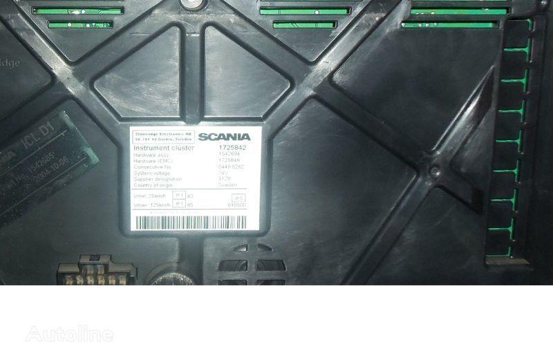 SCANIA series instrument panel, instrument cluster, dashboard, 172584 dashboard voor SCANIA R trekker