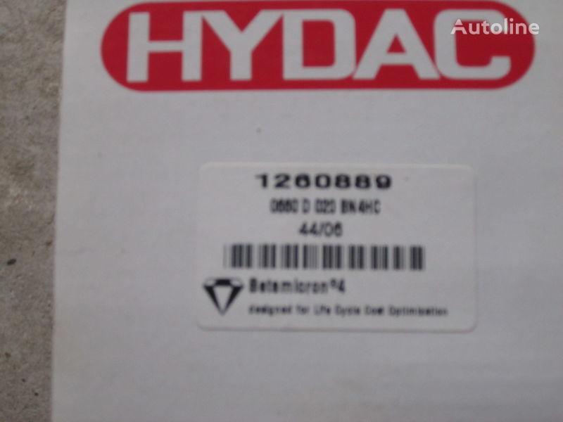 nieuw Nimechchina Hydac 1260889 hydraulische filter voor graafmachine