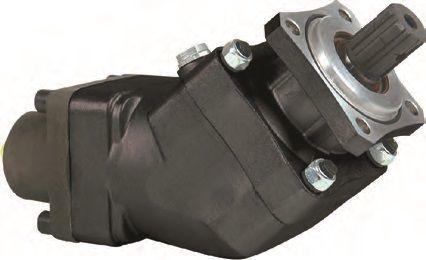 nieuw aksialno-porshnevoy 85 l/min. hydraulische pomp voor truck