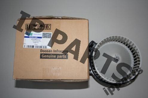 koelventilator voor DOOSAN wentylator 2538-6015 K1040112 nawiew graafmachine