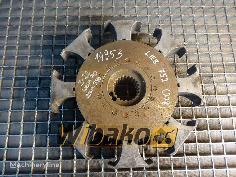 Coupling Liebherr 752 koppelingsplaat voor 752 (22/70/390) anderen bouwmachines
