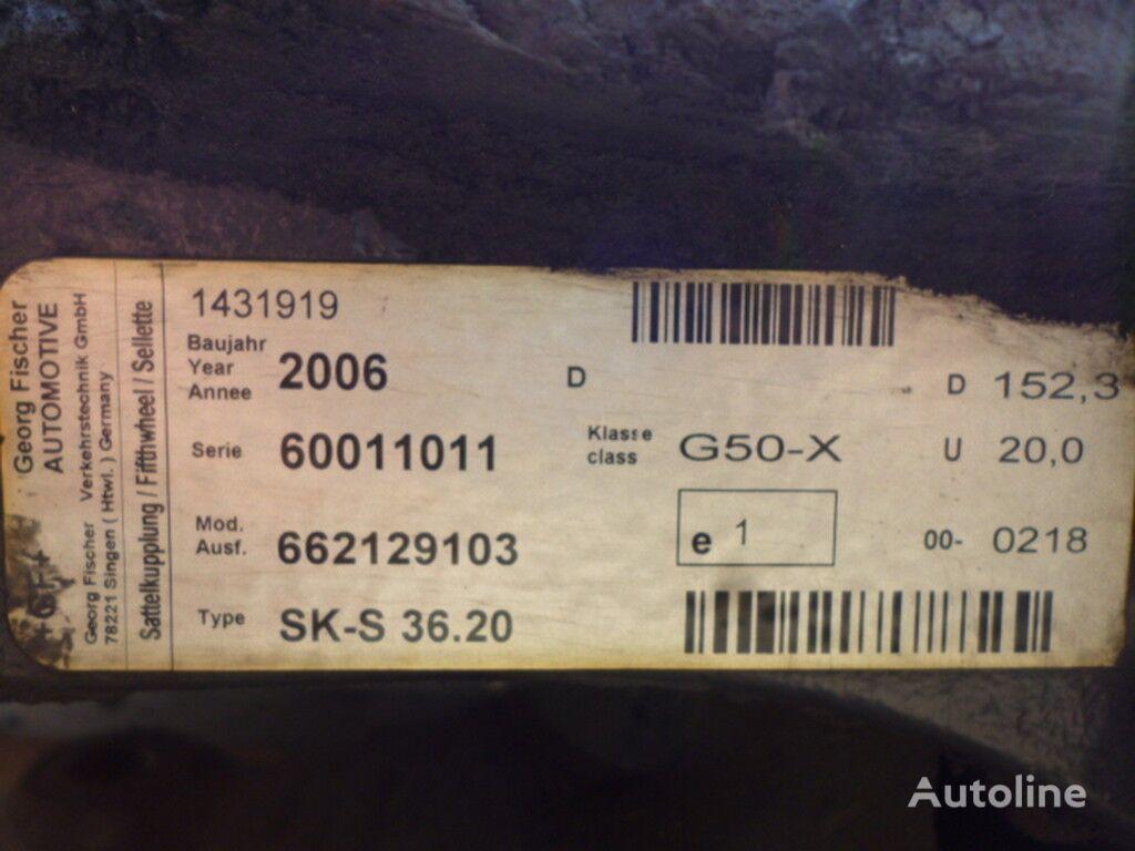 V=180 D=880 Sh=405 koppelschotel voor vrachtwagen