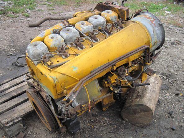 Deutz BF6L913 motor voor graafmachine