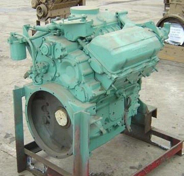 motor voor Detroit 6V53 anderen bouwmachines
