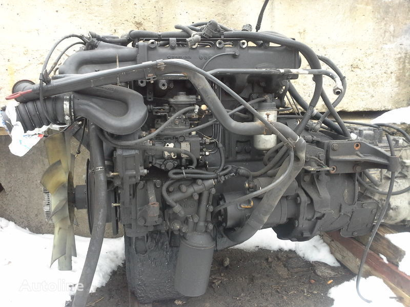 Motor MAN 4.6l 163 k.s 114kv prostoy turbo-dizel 440 tis. motor voor MAN vrachtwagen