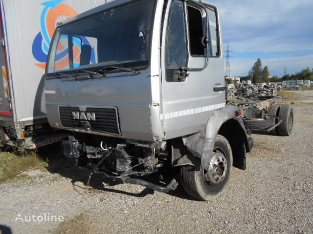 MAn 14.163 EURO 2 B.J. 1998 KM 400000 motor voor MAN 163 vrachtwagen