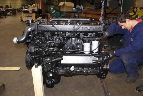 motor voor MAN D0826 LF 01/2/3/4/5/6/7/8/9 truck