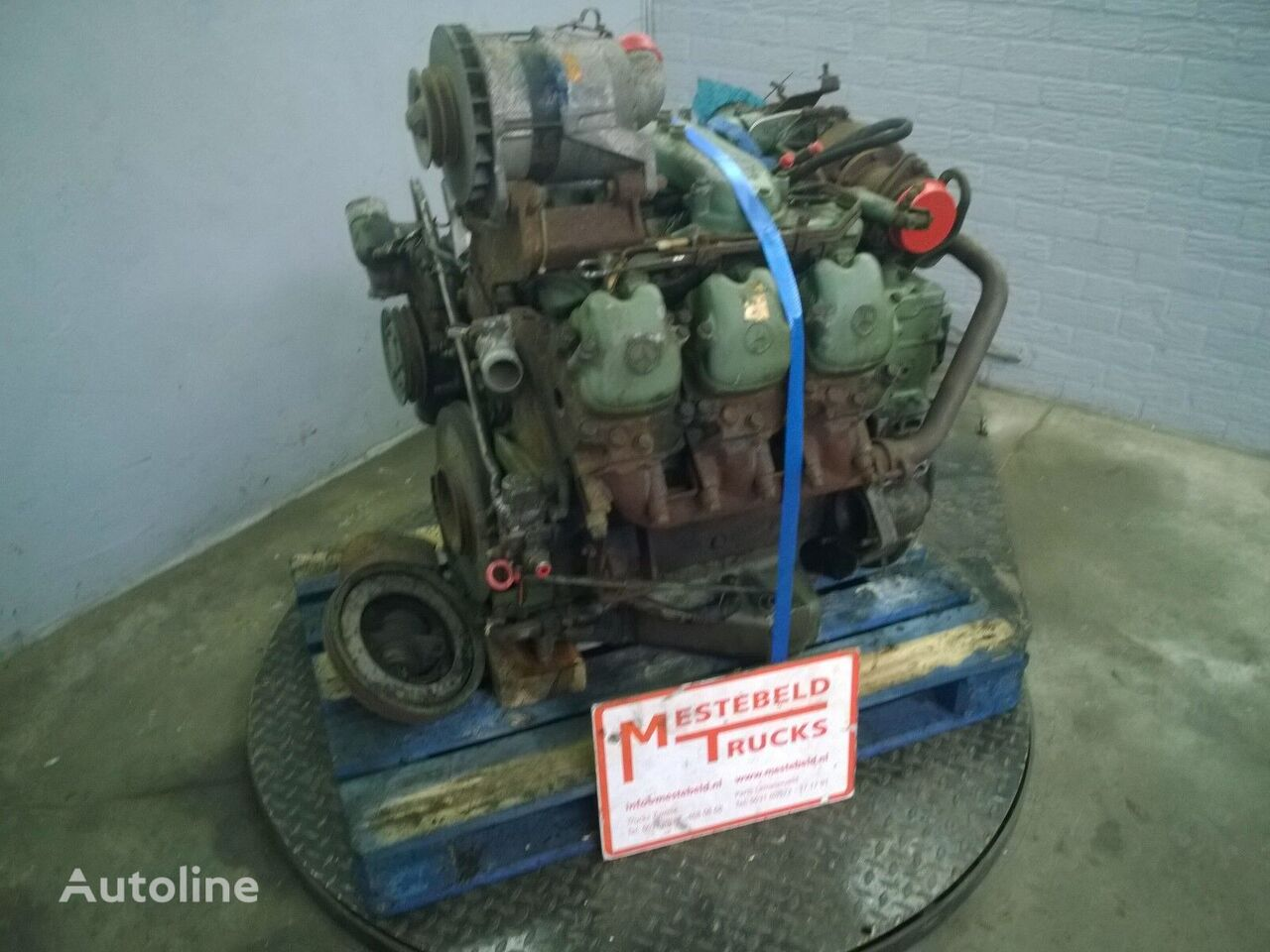 MERCEDES-BENZ motor voor MERCEDES-BENZ Motor OM 421 A bus