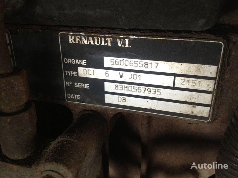 Renault dci 6v j01 motor voor RENAULT 220.250.270 vrachtwagen