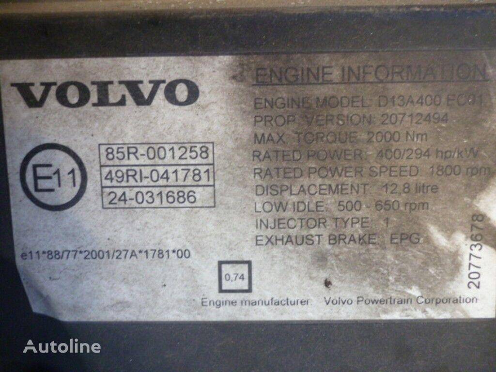 VOLVO D13A400 EC01 motor voor VOLVO vrachtwagen
