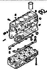 nieuw IVECO BLOQUE DAILY 8140,43 N motorblok voor IVECO 35S15 bestelwagen