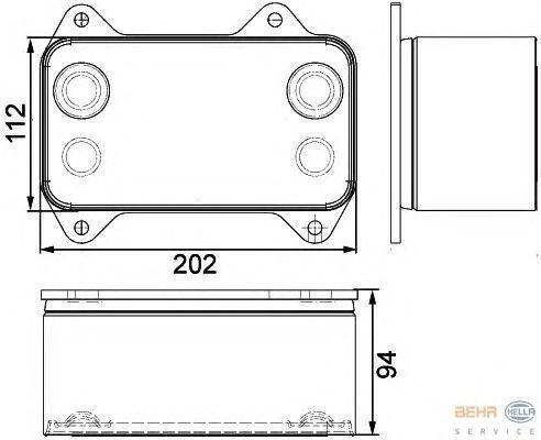 nieuw DAF 1667565.8MO376733421 motorkoeling radiator voor DAF XF.CF trekker