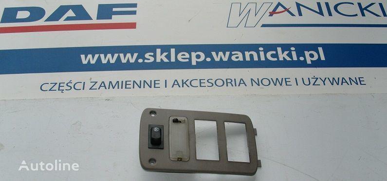 Panel tylny, kontrolka, sterownik ogrzewania WEBASTO, COVER PLATE WEBASTO  DAF onderdeel voor DAF Cf 65, 75, 85 trekker