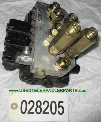 Merlo Hydraulický rozvaděč onderdeel voor MERLO wiellader