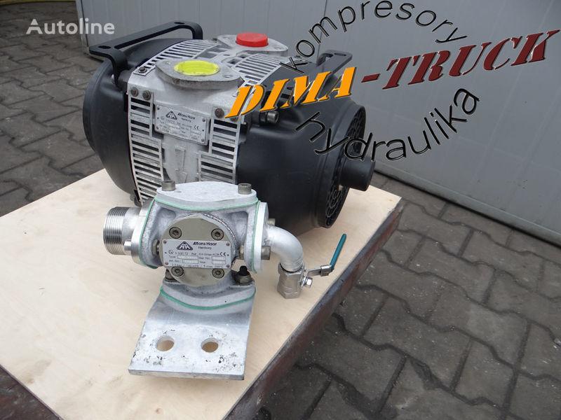 Haar vmax do wydmuchu płynów pneumatische compressor voor vrachtwagen