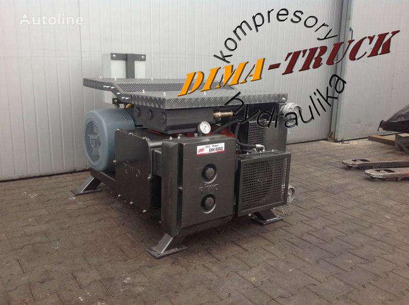 agregat ghh, drum silokompresor pneumatische compressor voor electric agregat vrachtwagen