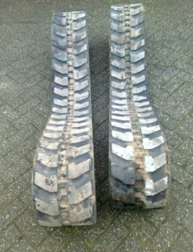 B/U rezinovye brigstone rupsband voor minigraver