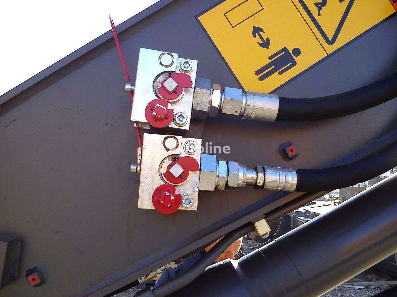 nieuw Balavto coupler B-Quick for hydraulic hoses snelwissel
