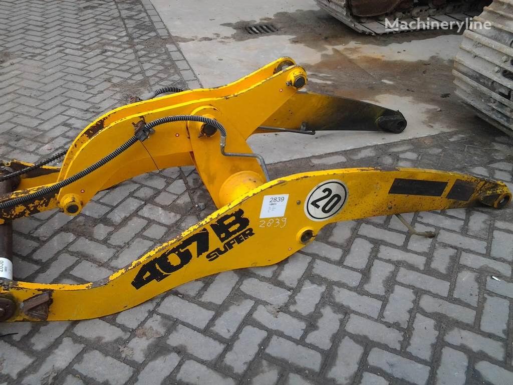snelwissel voor JCB 407BZX wiellader