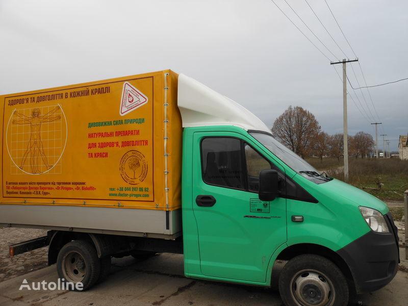nieuw spoiler voor GAZ NEXT truck