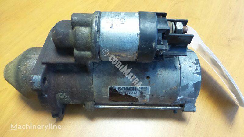 CASE startmotor voor CASE WX150 graafmachine