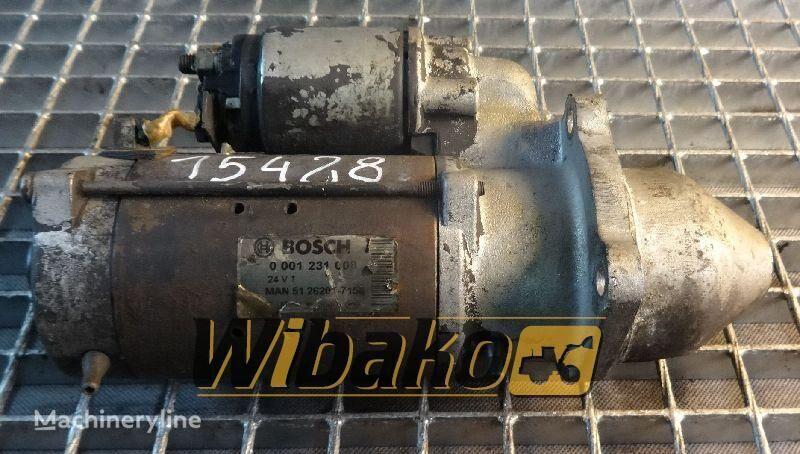 Starter Bosch 0001231008 startmotor voor 0001231008 anderen bouwmachines