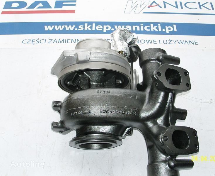 DAF TURBO TURBINA,REGENEROWANA, Turbocharger, EURO 5, turbocompressor voor DAF  XF 105, CF 85  trekker