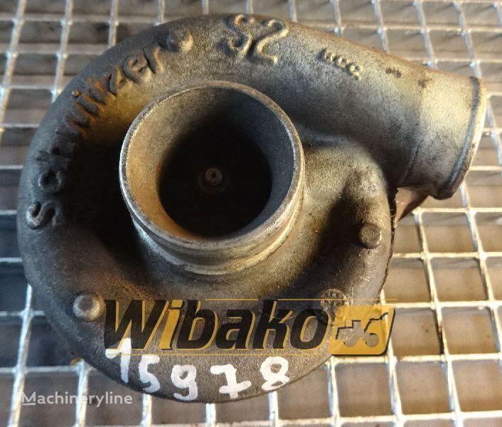 Turbocharger Schwitzer S2A turbocompressor voor S2A (2674A155) anderen bouwmachines
