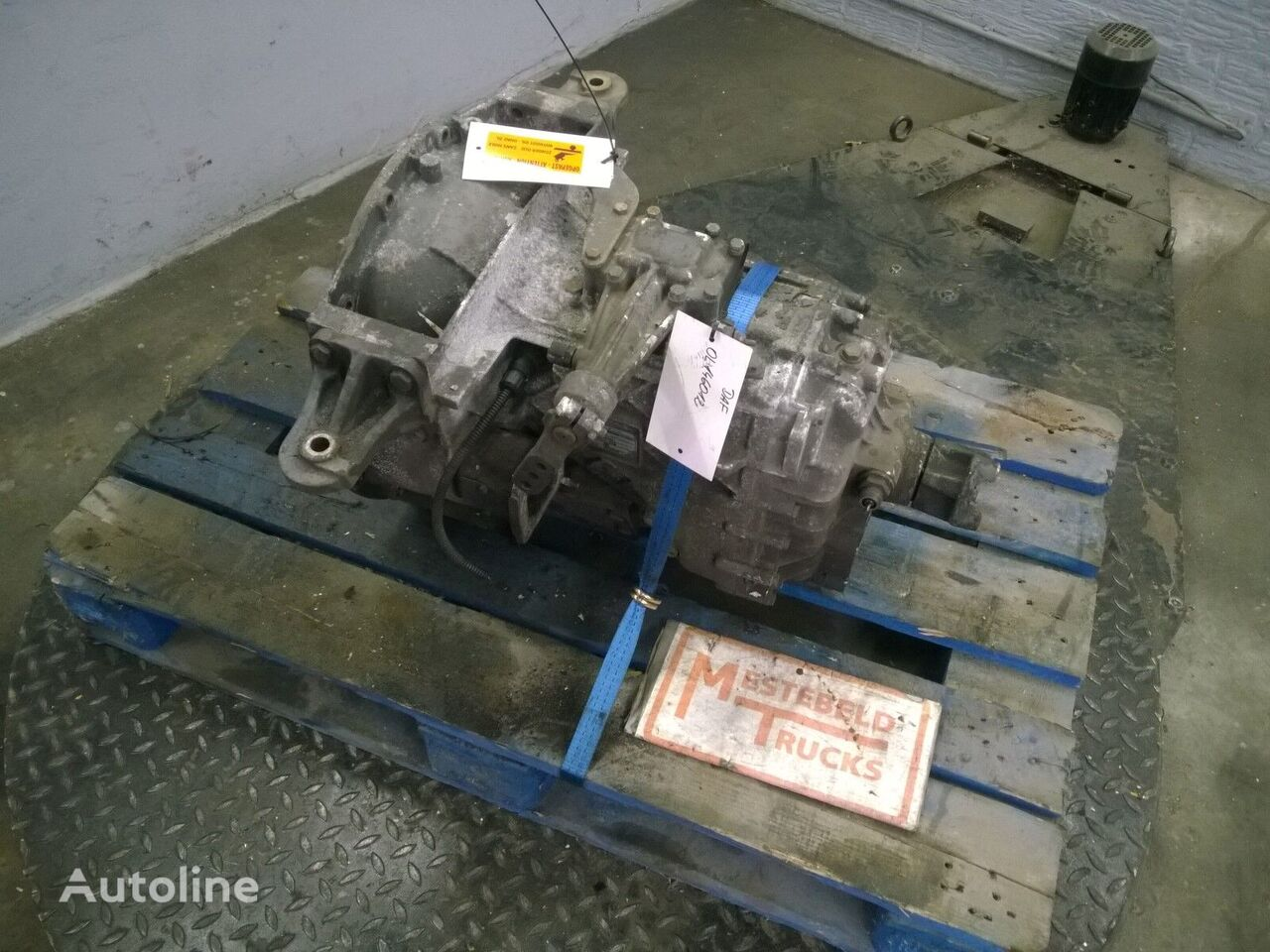 type versnellingsbak voor DAF Versn bak S5-42 OD truck