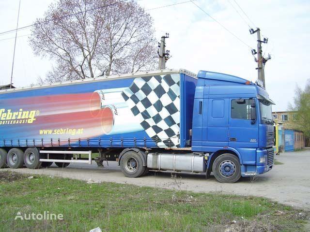 nieuw zonneklep voor DAF XF95 truck