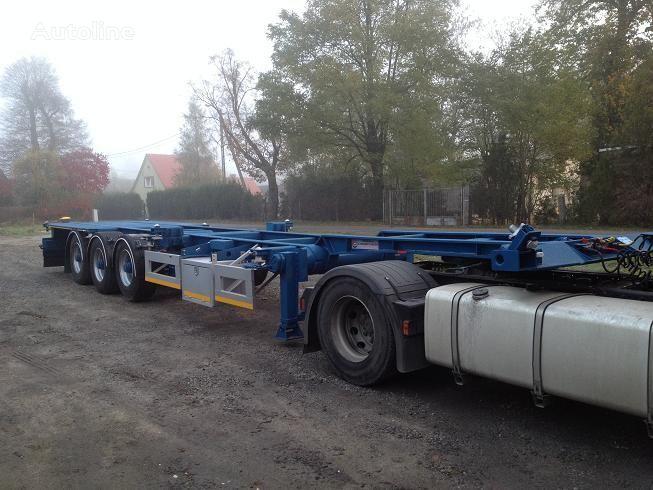 20FT,2 X 20FT,30FT,40FT, container oplegger