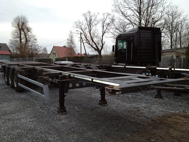 25 X COINTAINER CHASSIS container oplegger