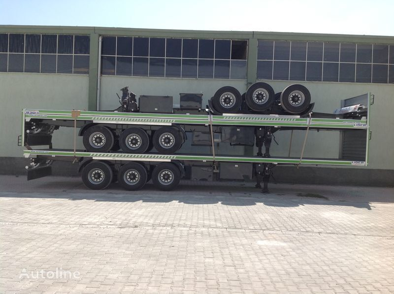 nieuw LIDER 2017 YEAR NEW 40' 20' 30' container transport trailer manufactur container oplegger