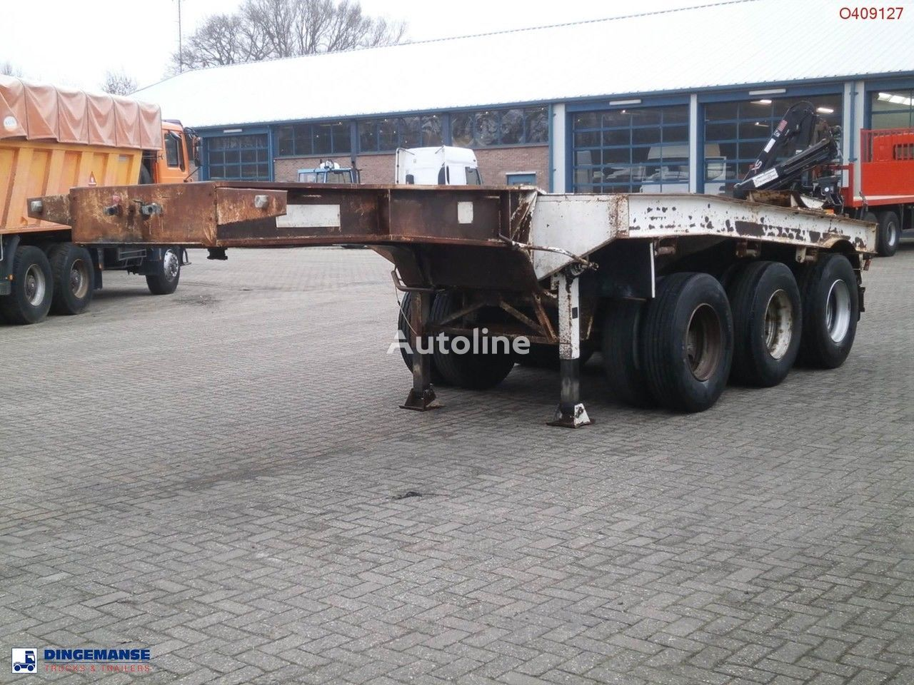 TRAYL-ONA 3-axle dolly trailer / 62000 kg container oplegger
