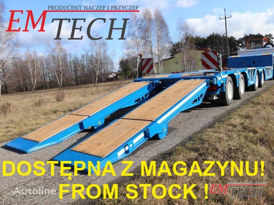 nieuw EMTECH 4.NNZ-1R-2N (NH2) - Z MAGAZYNU / STOCK AVAILABLE !! dieplader oplegger